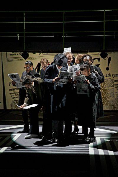 """""""Der Streik"""" – nach dem Roman von Ayn Rand / Schauspielhaus Zürich"""