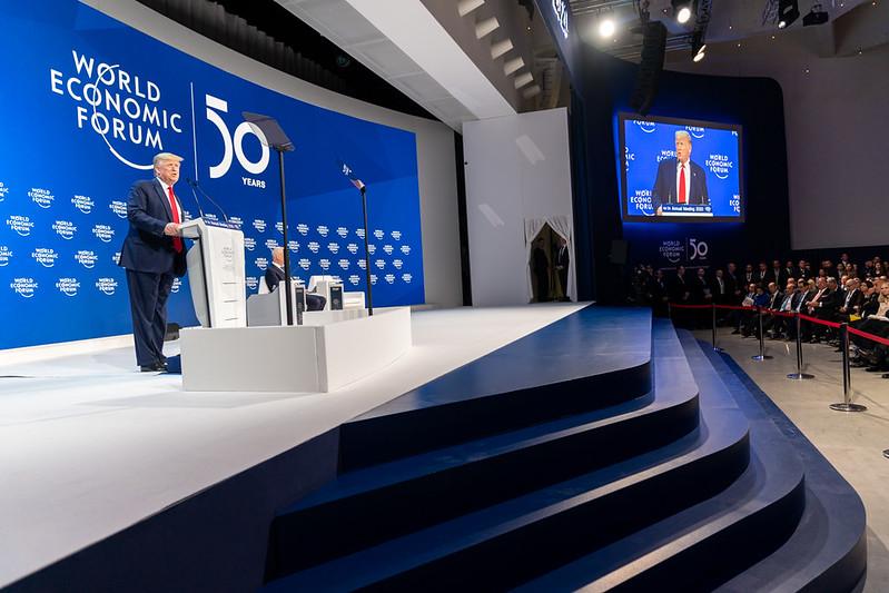 Donald Trump vs. Kassandra oder: König Priamos in Davos